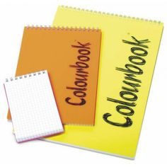 Quaderno ColourBook Notes A4  spiralato 80 FG.