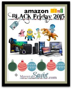 Amazon #BLACKFRIDAY 2015 Deals have been announced!!  See all the deals and bookmark helpful links HERE!