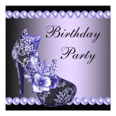 >>>Smart Deals for          	Black Purple High Heels Shoes Birthday Party Announcement           	Black Purple High Heels Shoes Birthday Party Announcement We have the best promotion for you and if you are interested in the related item or need more information reviews from the x customer who ar...Cleck Hot Deals >>> http://www.zazzle.com/black_purple_high_heels_shoes_birthday_party_invitation-161073739191945304?rf=238627982471231924&zbar=1&tc=terrest