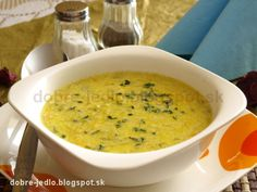 Cuketová polievka - recepty Cheeseburger Chowder, Soup, Vegetables, Ethnic Recipes, Veggies, Soups, Vegetable Recipes, Soup Appetizers