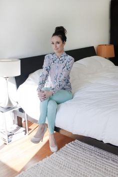 Catt Sadler via Refinery29. Love the Reiss top.