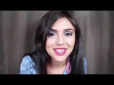Tutorial - Amanda Fragoso - YouTube.  See a makeup Cut Crease.