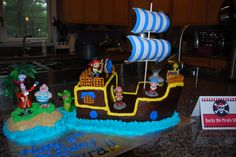 Bucky Cake for my son's Jake and the Neverland Pirates party