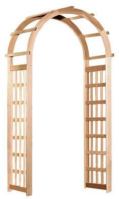 BestNest Arboria Glendale Cedar Arbor with Gate