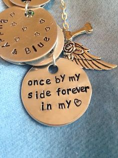 2 Charm PERSONALIZED Memorial Necklace - You may select TWO (2) Charms that represent YOUR Custom Piece that will be a blessing to someone you