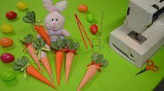 Sladká mrkva, ako hračka  Šijeme jednoduchú mrkvičku na Veľkú noc.  Šitie krok za krokom – Kurz šitia