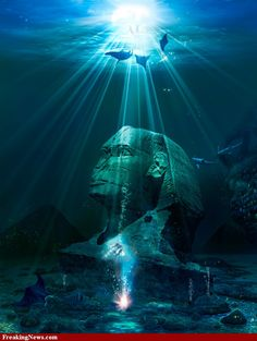 Sphinx Under the Sea