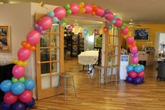 Art birthday party decorations!