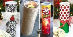 Recycler les tubes de Pringles! 20 idées + tutoriel vidéo