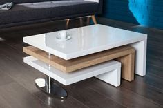 Spectacular Office Table Design That Trending In 2019 01 Tea Table Design, Office Table Design, Living Room Partition Design, Room Partition Designs, Centre Table Living Room, Center Table, Table Furniture, Luxury Furniture, Furniture Design