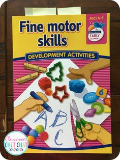 Fine Motor Monsters and Crafty Crabs Early Learning, Fine Motor Skills, Teacher Resources, Classroom, Teaching, Crafty, Activities, Book, Creative