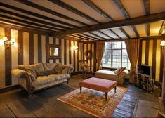 medieval living room.