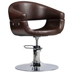 Fotel Fryzjerski Toscania Brązowy Italpro 875zl