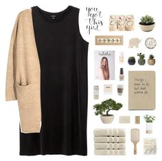 """""""~ O1O117"""" by khieug ❤ liked on Polyvore featuring Kate Spade, LSA International, Monki, H&M, Christy, Fresh, Philip Kingsley, 100% Pure, OPI and Christian Dior"""