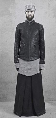 Visions of the Future: Long men skirt by #INAISCE — FW12/13