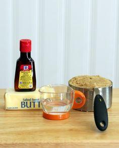 Butterbeer and Butterscotch sauce