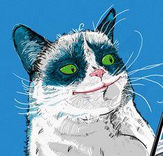 Rysunek kota on Behance