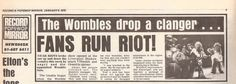 This news story, about near Womble riots, is superb. Liverpool, News, Photos, Pictures