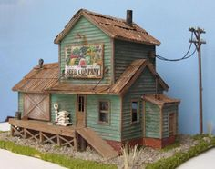 SEED COMPANY ~ Model Train Building ~HO Scale