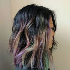 The Gorgeous New Rainbow Hair Trend You Could Wear To The Office - The Singapore Women's Weekly