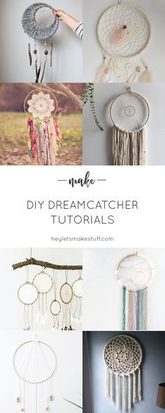 If you love the delicate, boho style of a dreamcatcher, here are 10+ DIY…
