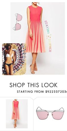 """""""Stayingsummer I/14"""" by m-sisic ❤ liked on Polyvore"""