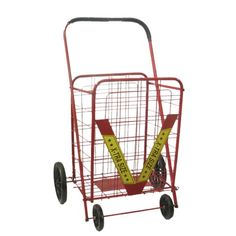 athome xl wheeled cart red