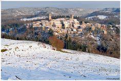 ITALY, SAN CASCIANO DEI BAGNI, A SPA TOWN TUSCANY