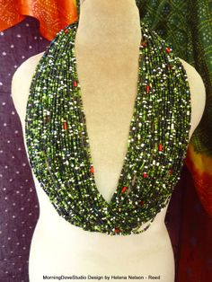 """found on etsy... """"Bead Bold Tribal Mermaid Vintage African by MorningDoveDesign"""""""