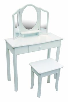 Guidecraft Classic White Vanity and Stool GuideCraft,http://www.amazon.com/dp/B005175KMU/ref=cm_sw_r_pi_dp_G7rKsb0ARSDR4978
