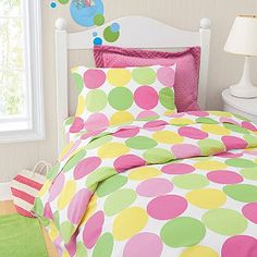 this might be a winner for K's bedding. so cute!