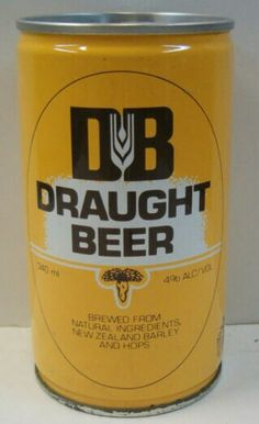 DB Draught Beer Can All Things New, Old Things, 80s Stuff, Cool Stuff, Kiwi Growing, Draught Beer, Ice Cream Van, State Of Arizona, Beer Cans