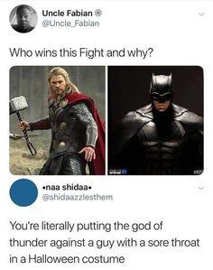 Avengers Memes, Marvel Memes, Marvel Comics, Marvel Funny, Batman Meme, Marvel Avengers, Clever Comebacks, Witty Comebacks, New Jersey Humor