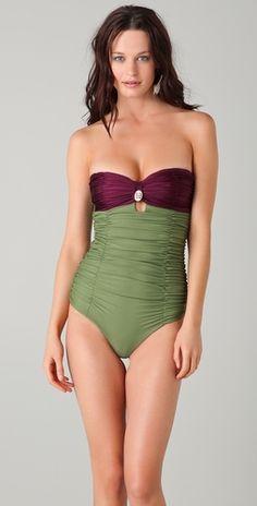 tori praver swimwear marilyn one piece.
