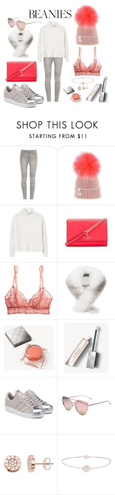 """""""Beanies"""" by iii-i-mcmxcv ❤ liked on Polyvore featuring French Connection, Rebecca Taylor, Kate Spade, Eberjey, Harrods, Burberry, adidas Originals, WithChic, Thomas Sabo and New Look"""