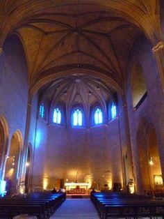 Publicamos la iglesia-església de Santa María de Balaguer patrocinada por la condesa Cecilia de Comenges sobre el emplazamiento de la antigua iglesia de San Miguel.
