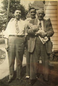 Three men and a doll