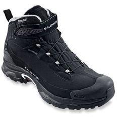 Waterproof protection and cozy insulation with a 20°F comfort rating. Men's Salomon Deemax 2 Dry Winter Boots.
