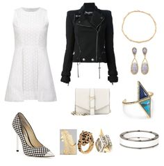 #dress #jacket #bag #shoe #jewels #rings #VictoriaBeckham #Balmain #MichaelKors #outfits $outfitsoftheday #OOTD #look #lookoftheday #LOTD #mode #moda #fashion #fashionstyle #fashionista #style