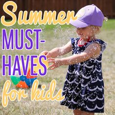 Summer Must-Haves for Kids » Daily Mom.  Whether you're traveling to the beach, camping or just hanging around home and enjoying the nice weather, we've complied a fantastic list of summer must haves: Bug Smarties insect-repellent clothes for kids & the Geleeo Self-Cooling Stroller Pad, both from One Step Ahead!