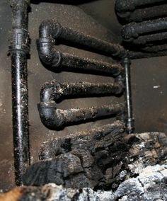 Wood Burning Stove Heat Exchanger Radiator 30 Less Fuel