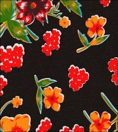 Istanbul Black Oilcloth Love this one. Own a swatch. Glamping tablecloth candidate.