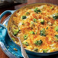 """""""The old-school version of this recipe uses canned soup and often calls for frozen broccoli. My new twist is made with fresh, wholesome ingredients. It takes just a smidgen of more time, but the results are absolutely extraordinary."""" --Contributing editor Virginia Willis, author of the forthcoming Lighten Up, Y'all"""