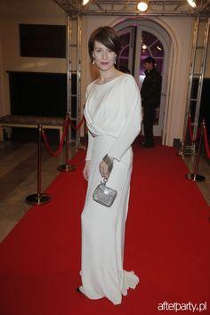 Maja Ostaszewska na rozdaniu nagród filmowych Orły 2014