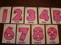 counting using cereal :) (tried to keep the dots similar to touch math) Teaching Math, Teaching Ideas, Touch Math, Creative Class, Game Ideas, Lessons For Kids, Math Games, First Grade, Adhd