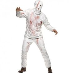 Costume homme momie blanche