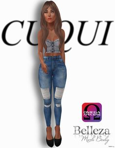 Jeans Outfit Group Gift by CUQUI