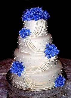 Blue Wedding Cake Ideas