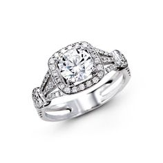 Such a stunning #engagement ring! {Simon G}