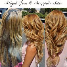 By: Abigail Jeen #acappellasalon #eufora #euforacolor #haircolor